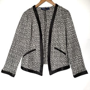 Boulce Trimmed Jacket